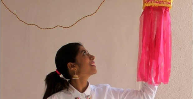 Diwali fashion 2017 – Festive Indo-western look for Diwali Brunch