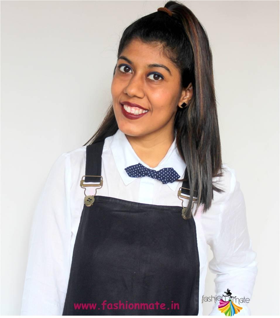 halloween dark autumn fall makeup - indian fashion blogger