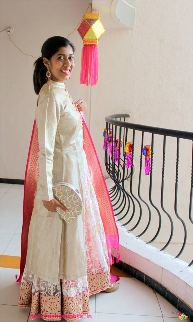 how to make lehenga from old saree - Design it yourself jacket lehenga