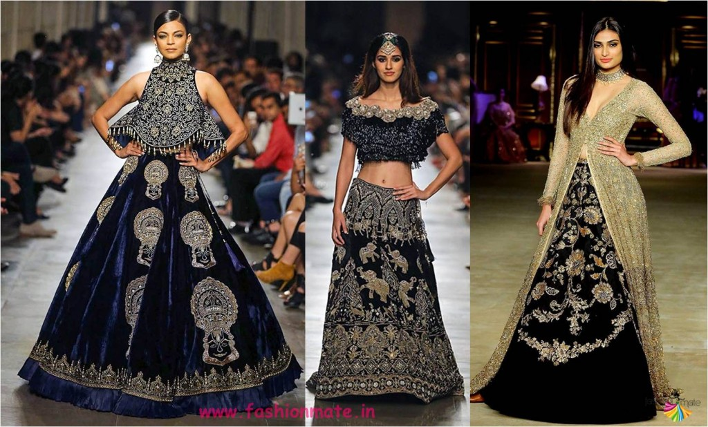 huge floral animal motifs lehenga - latest fashion trends 2017