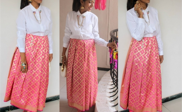 7 ways to wear Banarasi silk dupatta – Drape your fashion!