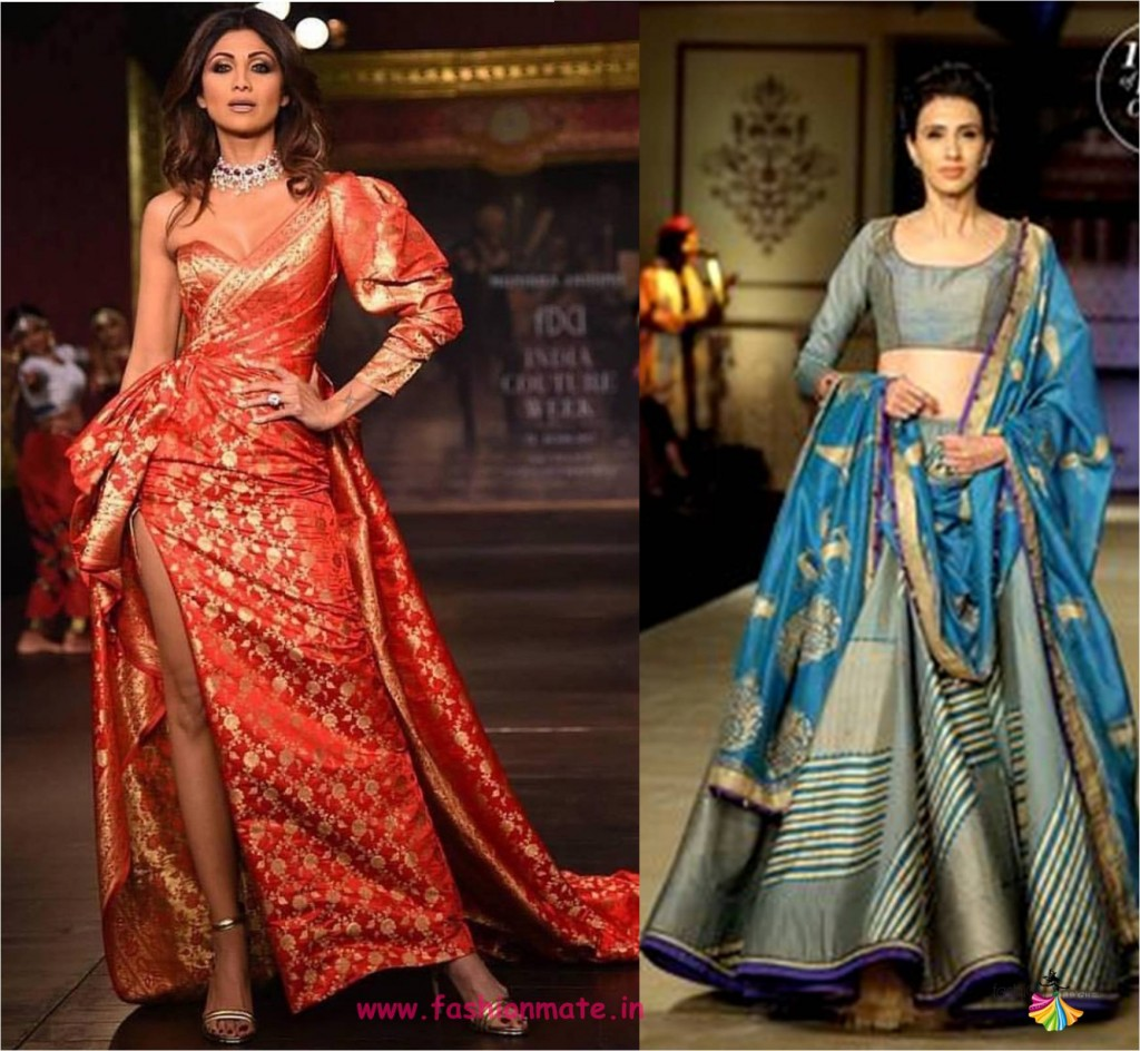 43f3ab4728e55 7 ways to wear Banarasi silk dupatta - Drape your fashion!