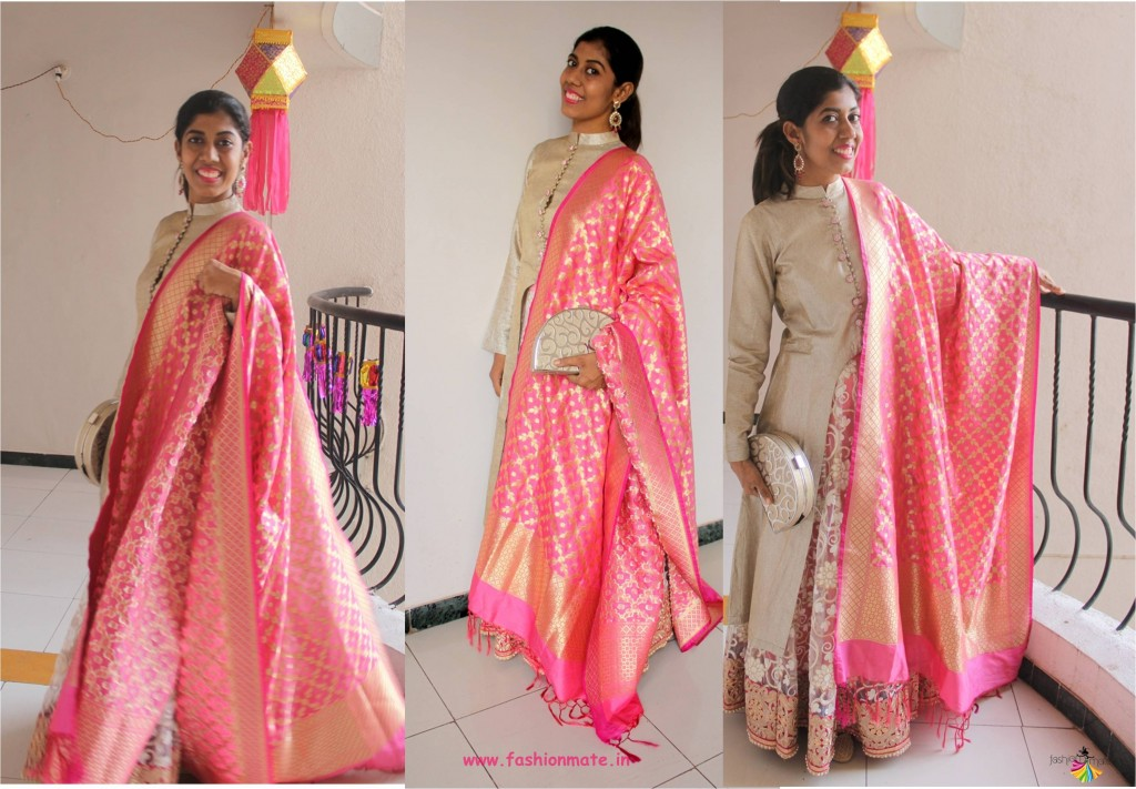 f1aa313542857 ... different ways to wear banarasi silk. banarasi silk jacket lehenga