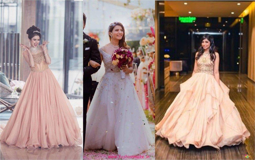 bridal reception gown 2018 - real brides in shantanu and nikhil