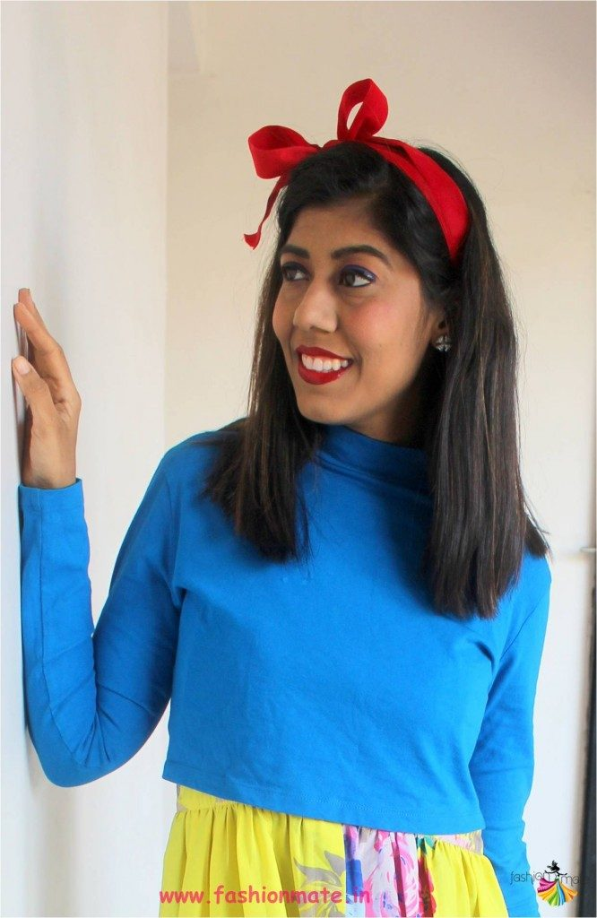 stylish red headband diy