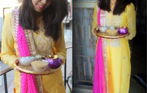Wedding dairies – Unique Sister of the bride haldi ceremony outfit ideas 2018