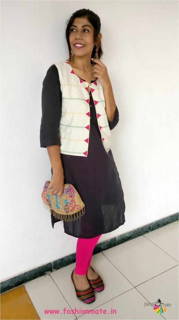 Summer ethnic fashion trends 2018 - cotton waistcoat