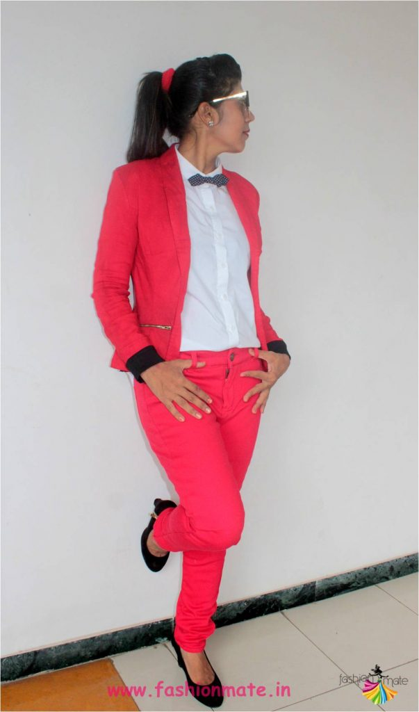 How to style your bow-tie with pant suit 2018