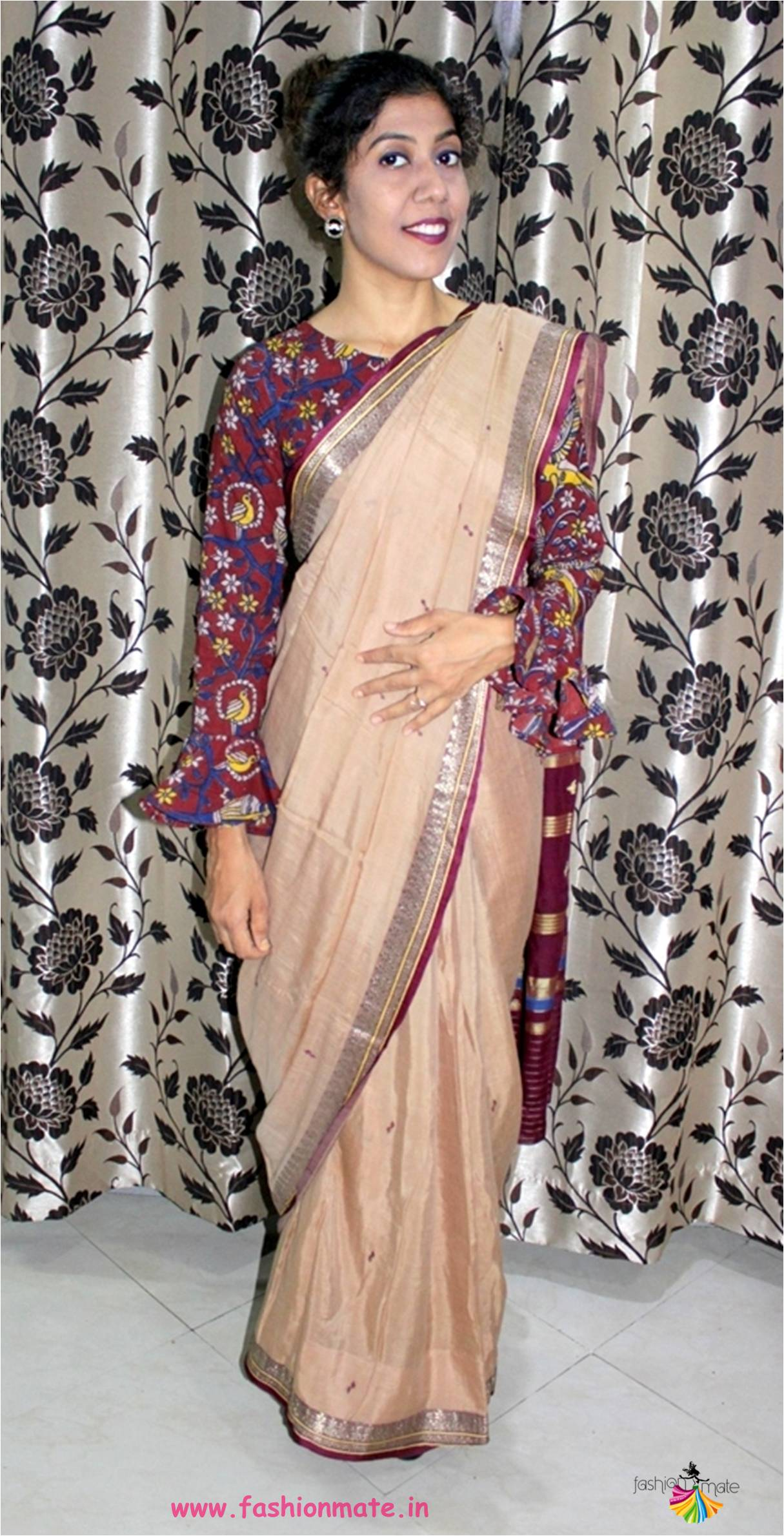 Linen Saree Trend – Tips to style your Linen or Cotton Saree for Party Look