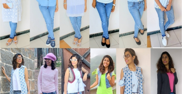 32034348050 Capsule Wardrobe - 12 ways to style your Pearl Denims!