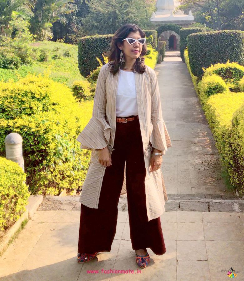 Travel Fashion - How To Style Your Palazzo Pants For Heritage Places