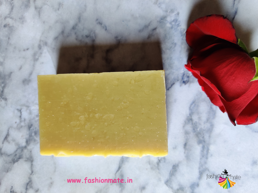 Degya saffron natural homemade soap