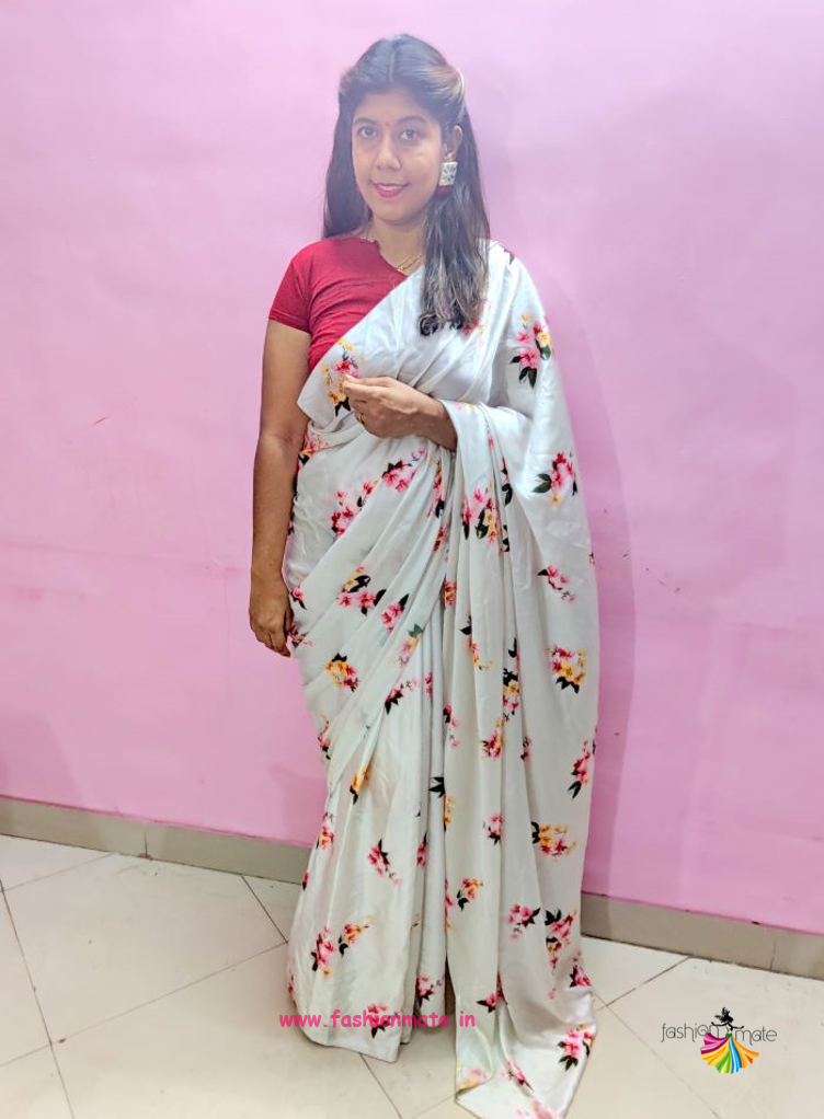 Traditional look Saree styling