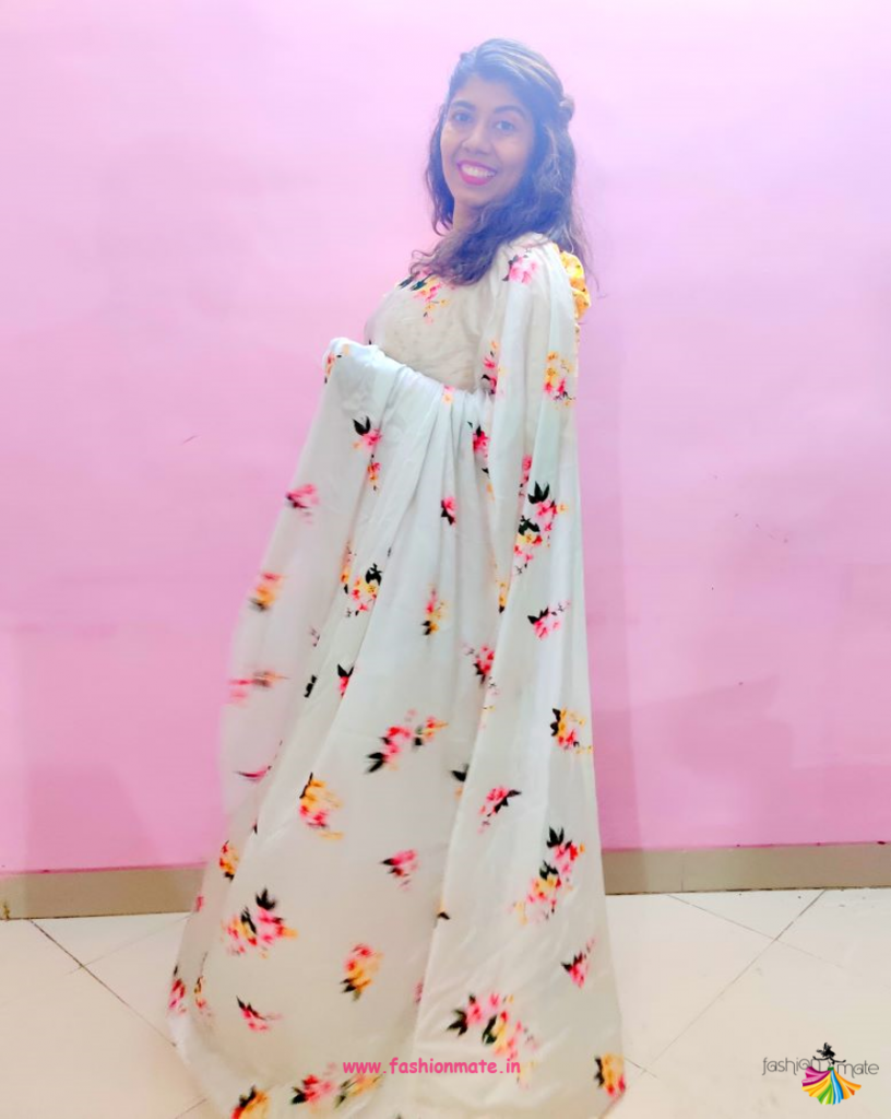 Four Ways To Style Your Floral Saree!